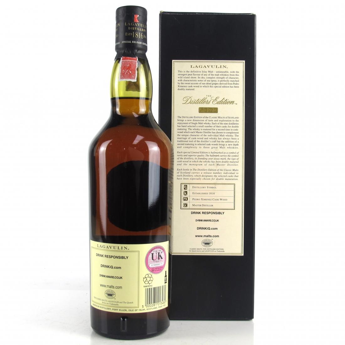 Lagavulin 1995 Distillers Edition