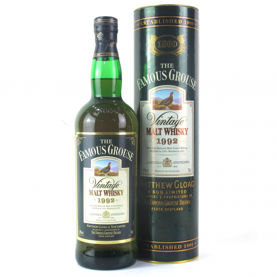 Famous Grouse 1992 Vintage Malt