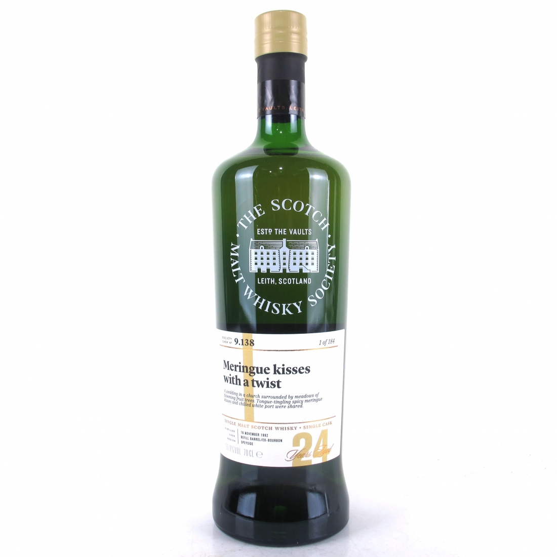 Glen Grant 1992 SMWS 24 Year Old 9.138