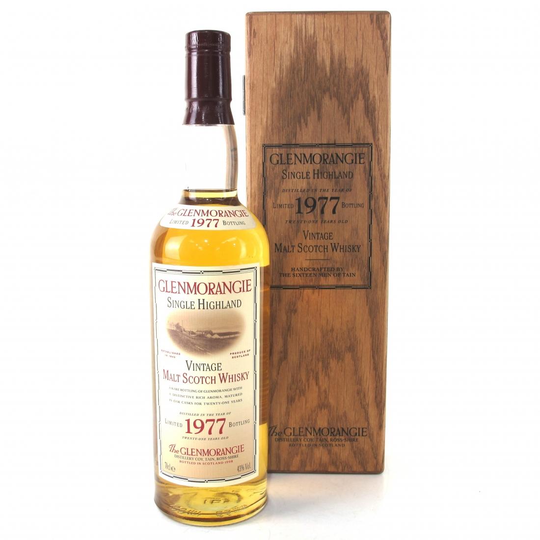 Glenmorangie 1977 21 Year Old / 1998 Edition