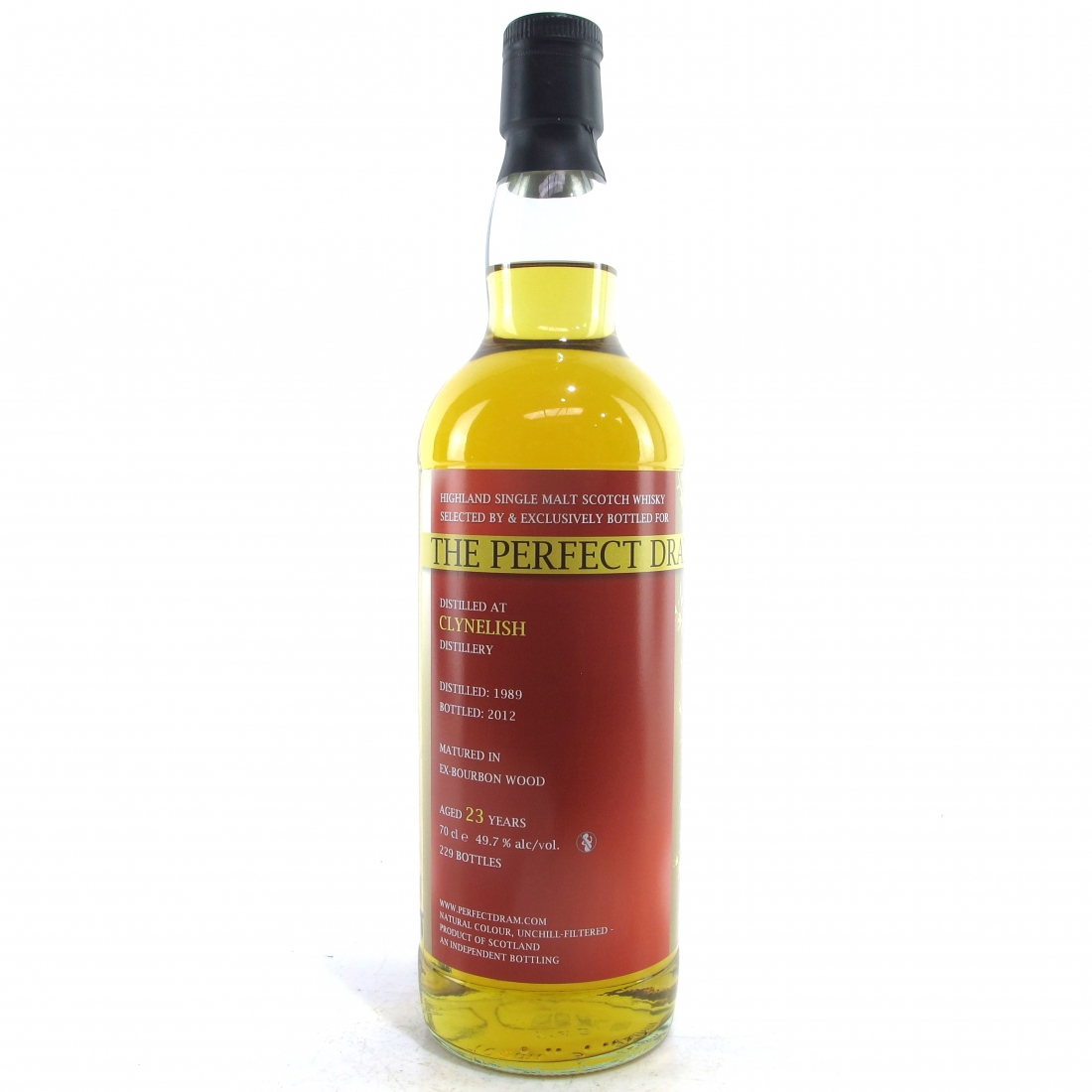Clynelish 1989 Whisky Agency 23 Year Old / Perfect Dram