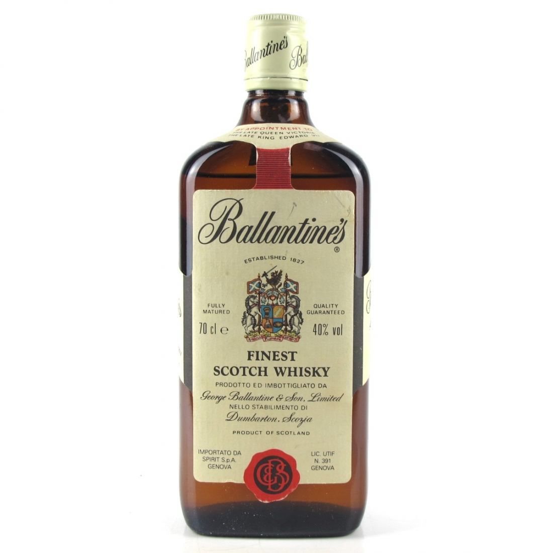 Ballantine's Finest Scotch / Spirit Import