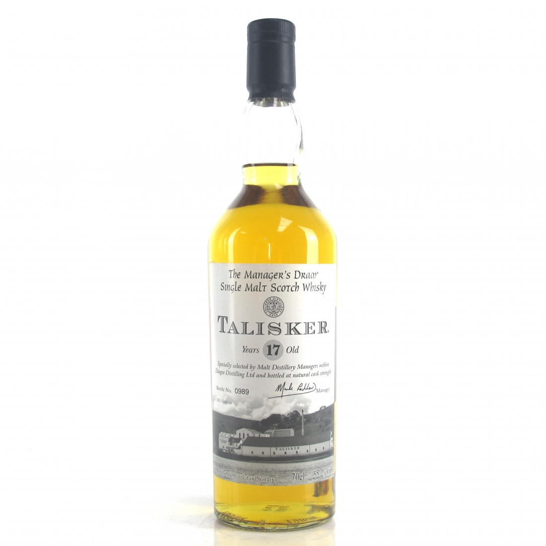Talisker 17 Year Old Manager's Dram 2011