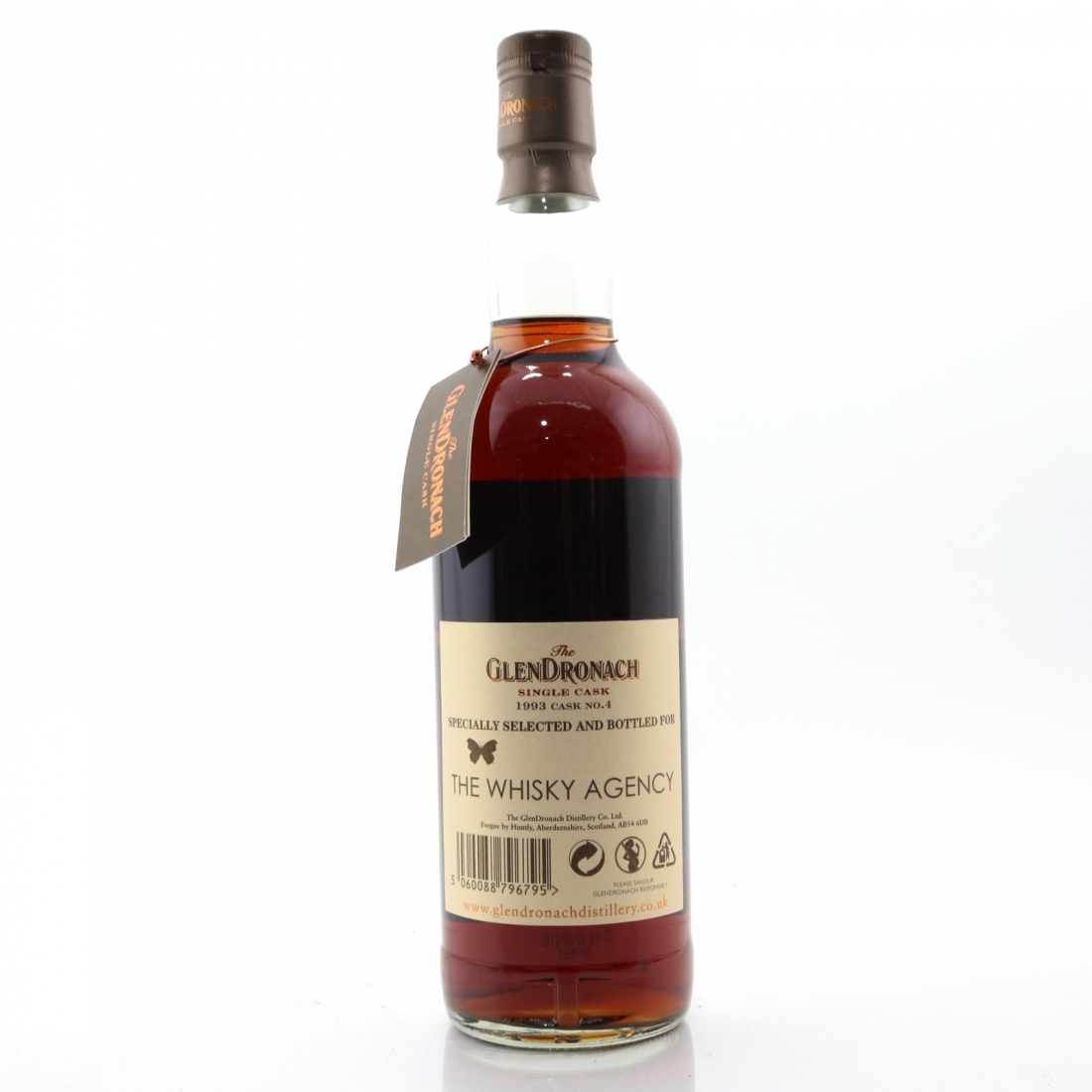 Glendronach 1993 Single Cask 20 Year Old #4 / The Whisky Agency