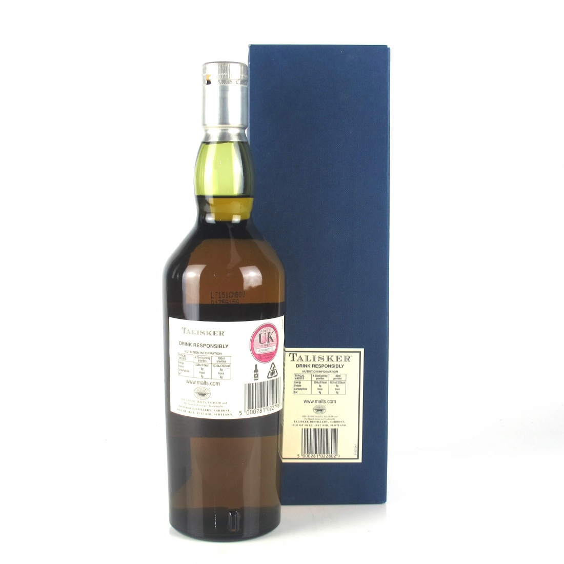 Talisker 25 Year Old 2007 Release