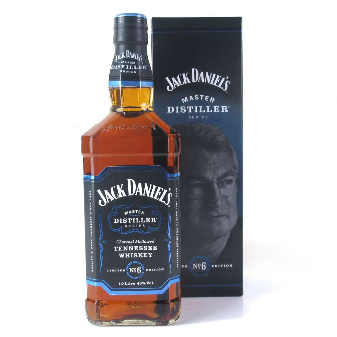 """Jack Daniel's Master Distiller Batch #6 1 Litre / """"Jimmy"""" Bedford"""
