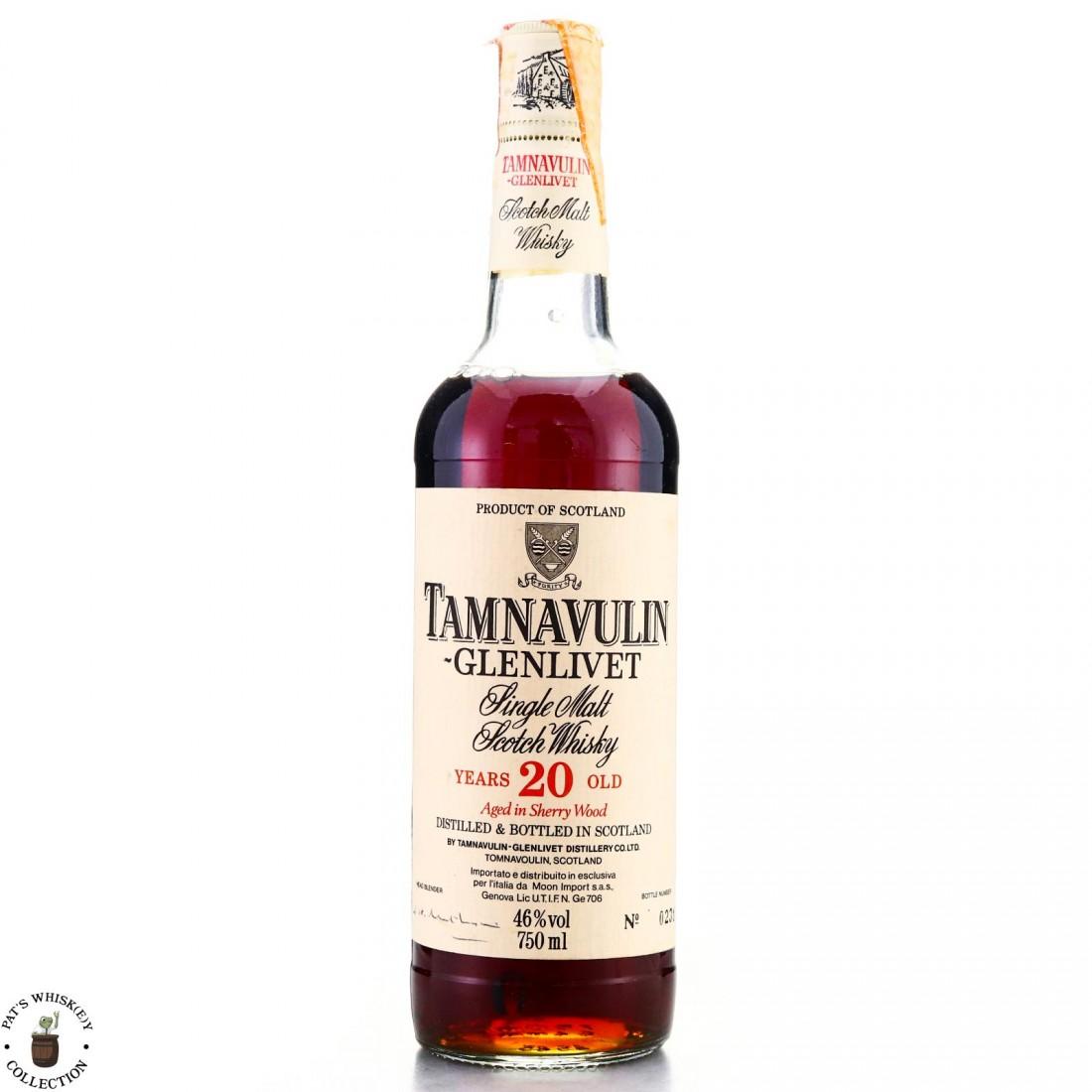 Tamnavulin 20 Year Old Sherry Wood / Moon Import