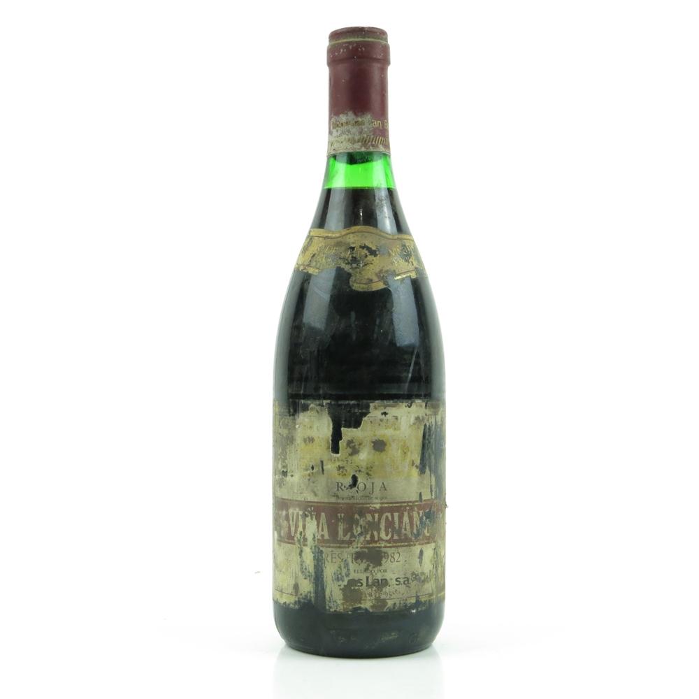 Viña Lanciano 1982 Rioja Reserva