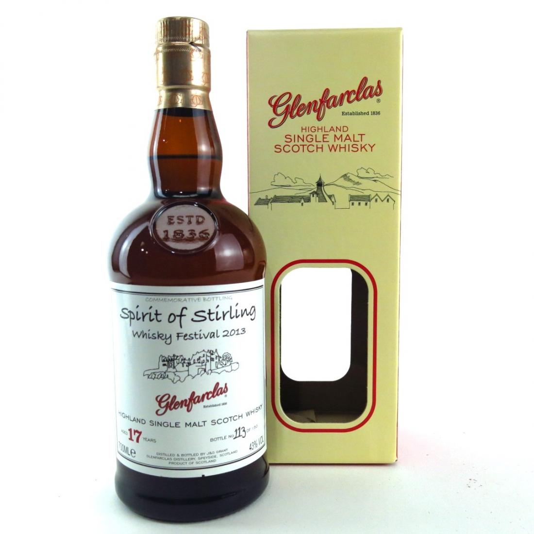 Glenfarclas 17 Year Old / Spirit of Stirling Whisky Festival 2013