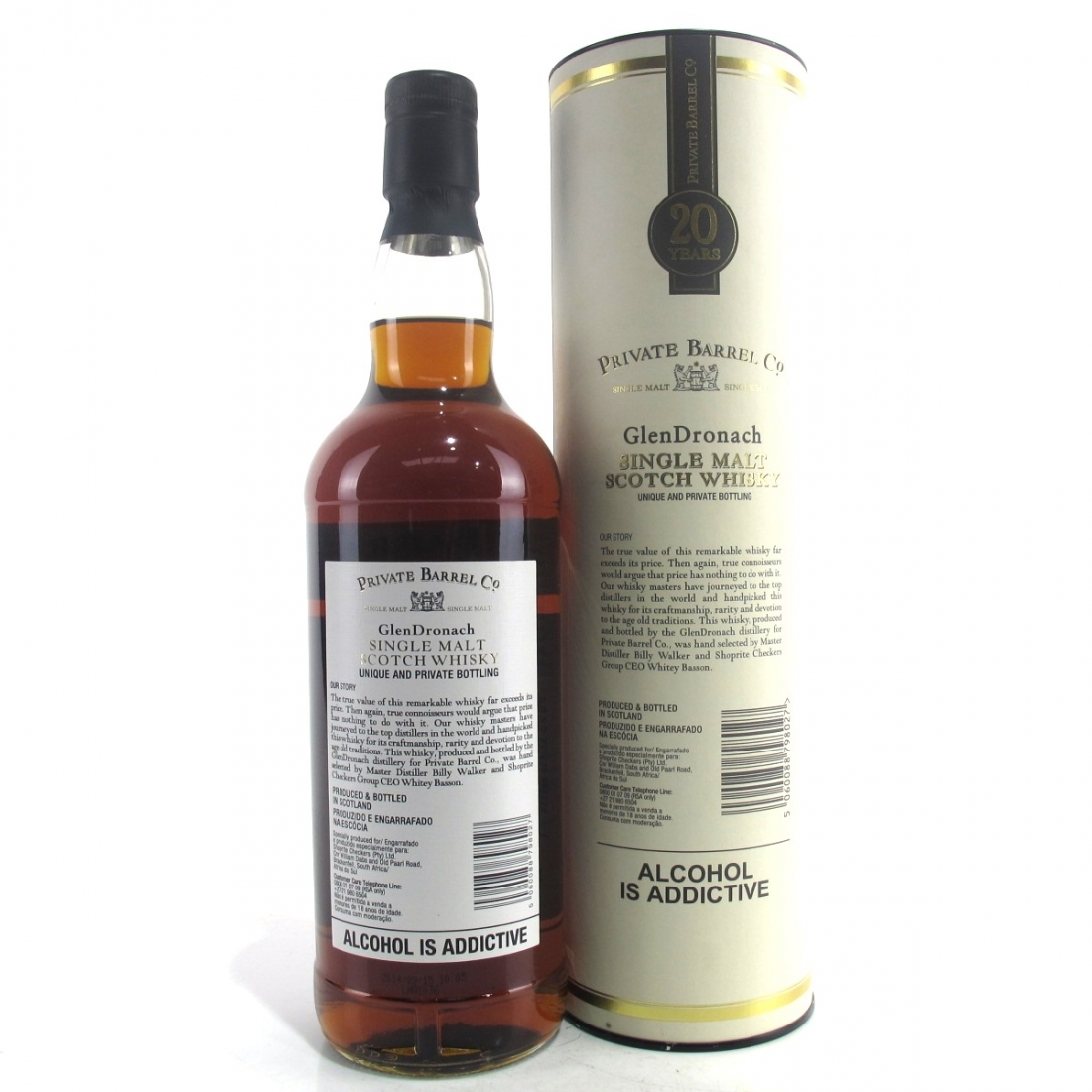 Glendronach 20 Year Old Private Barrel Co 75cl / South African Import