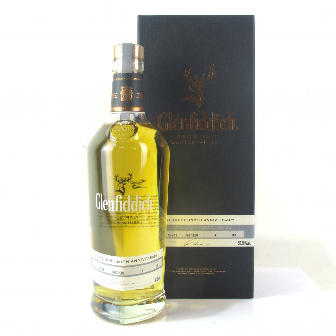 Glenfiddich 20 Year Old 130th Anniverary Single Cask / Release #1