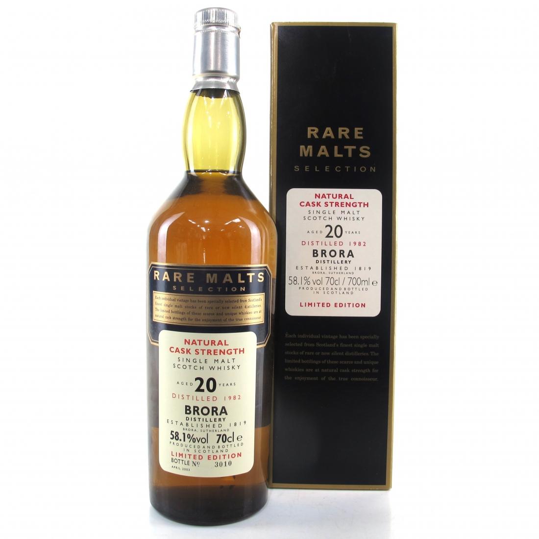 Brora 1982 Rare Malt 20 Year Old / 58.1%