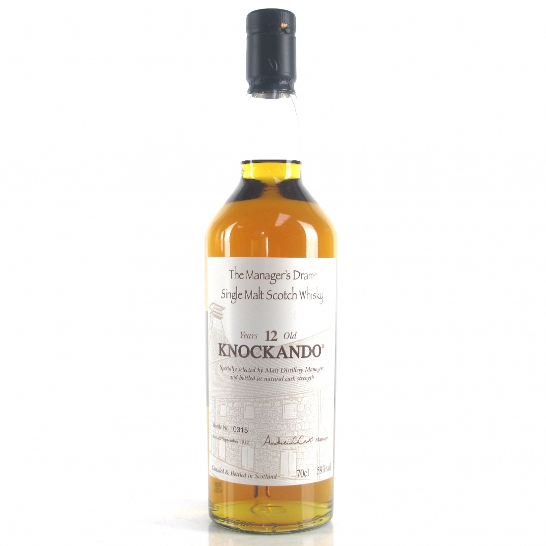 Knockando 12 Year Old Manager's Dram 2012