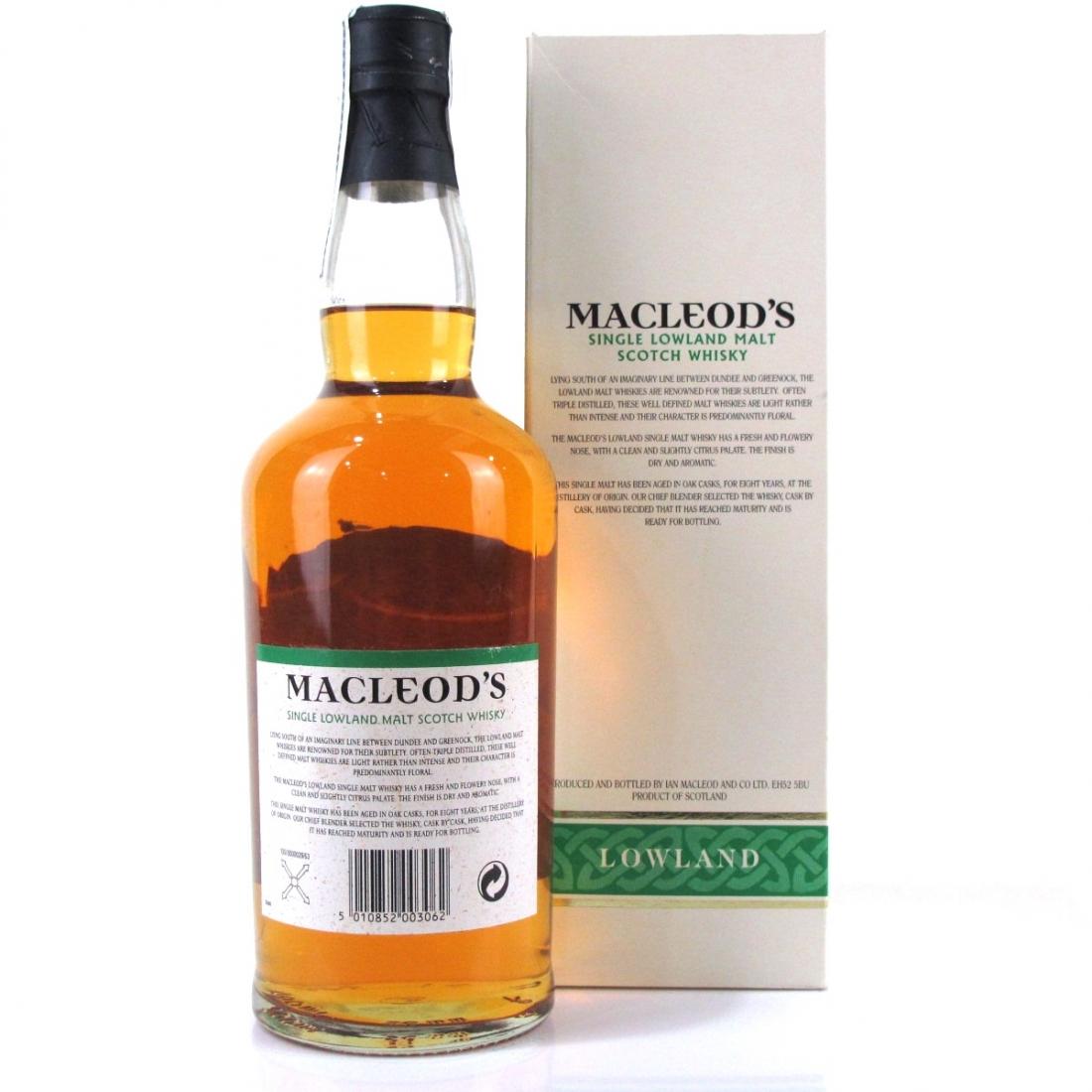 Macleod's 8 Year Old Lowland Single Malt