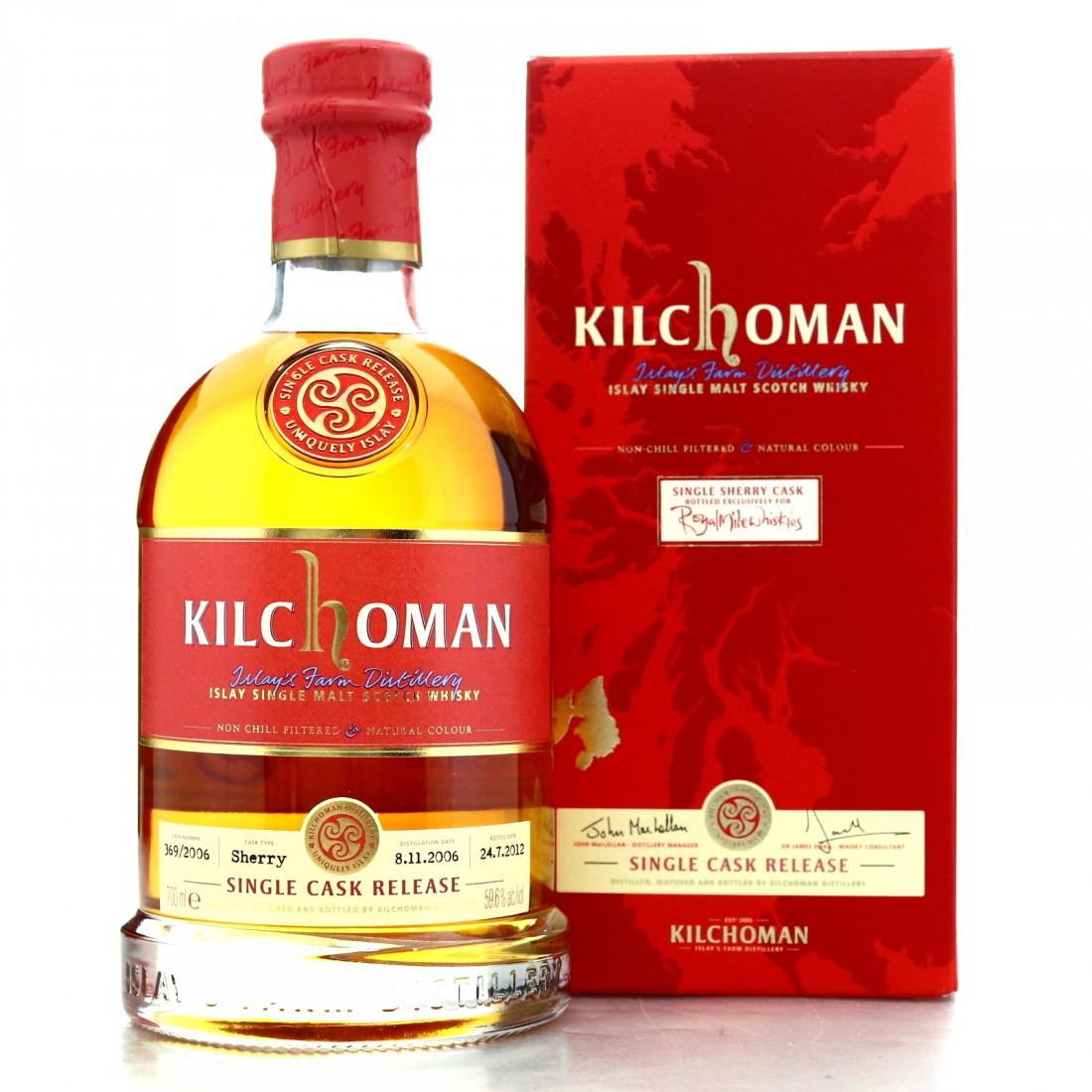 Kilchoman 20086 Single Cask #369 / Royal Mile Whiskies