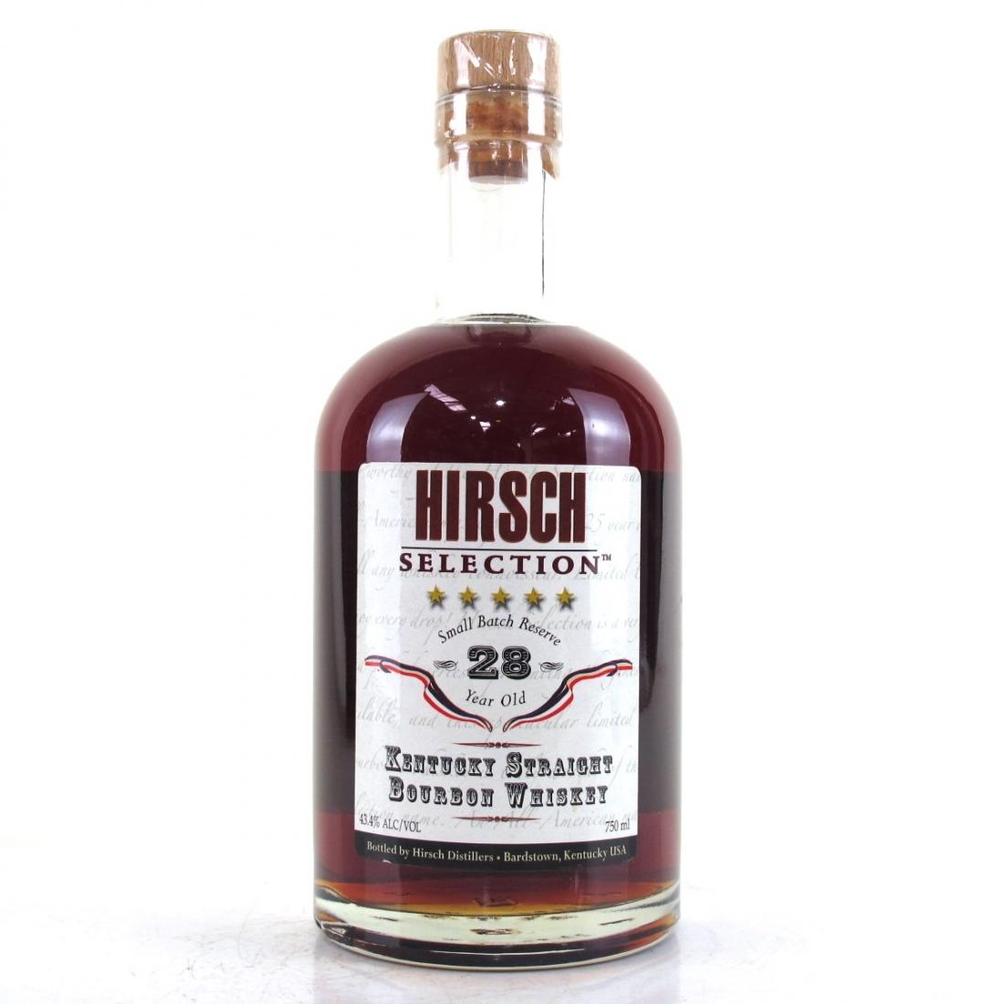 Hirsch Selection Kentucky Straight Bourbon 28 Year Old