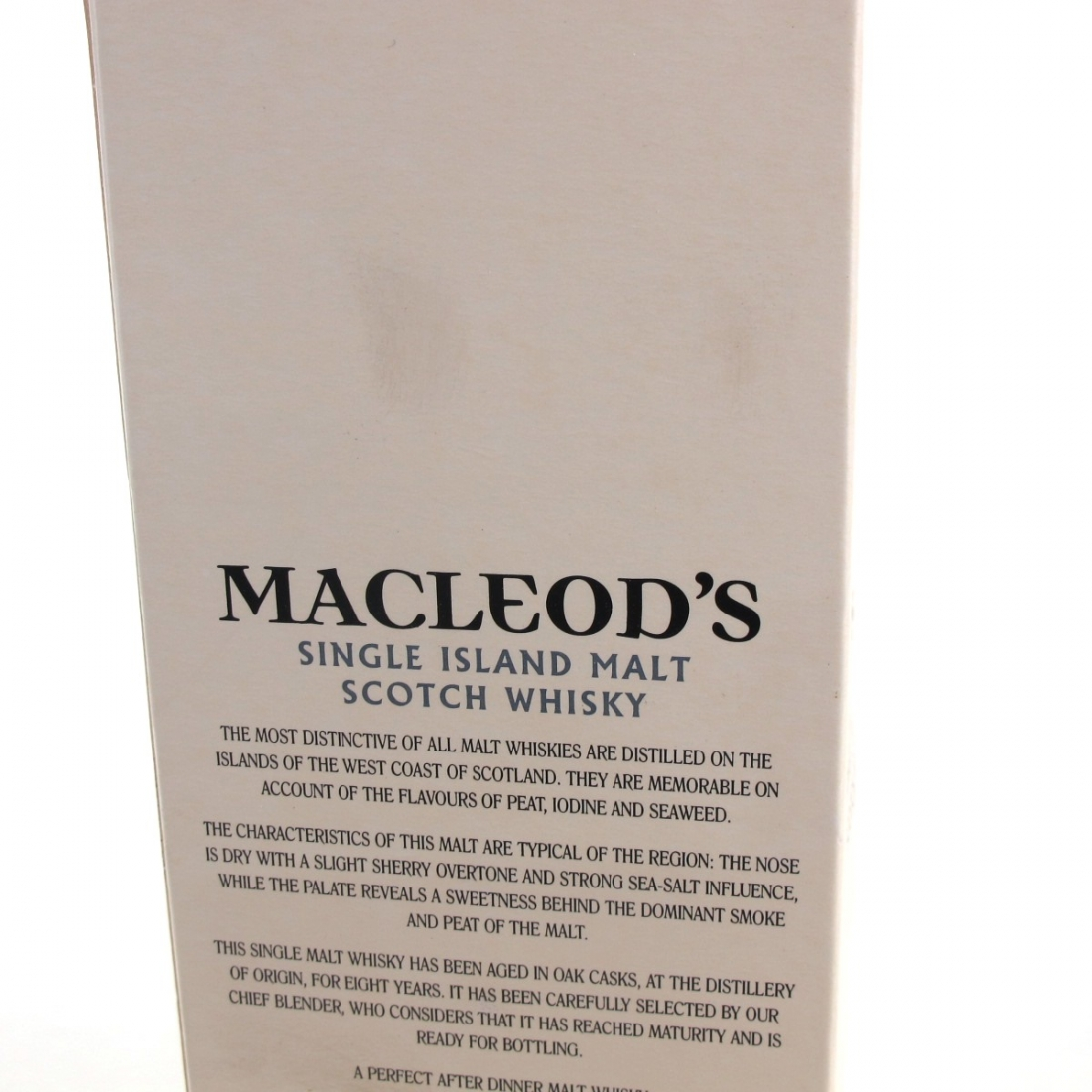 Macleod's 8 Year Old Island Single Malt