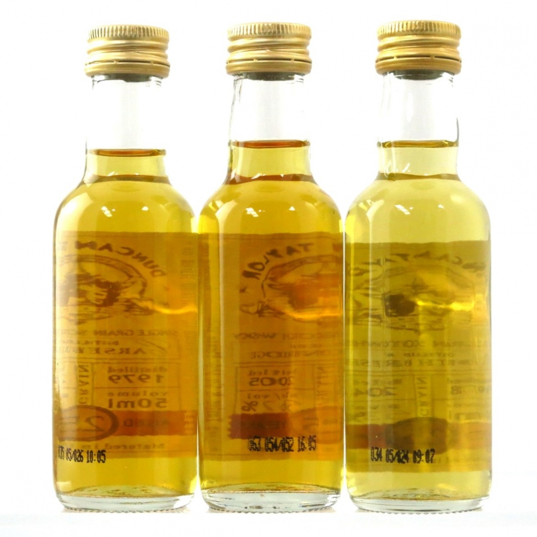 Duncan Taylor 25 Year Old Single Grain Selection 3 x 5cl