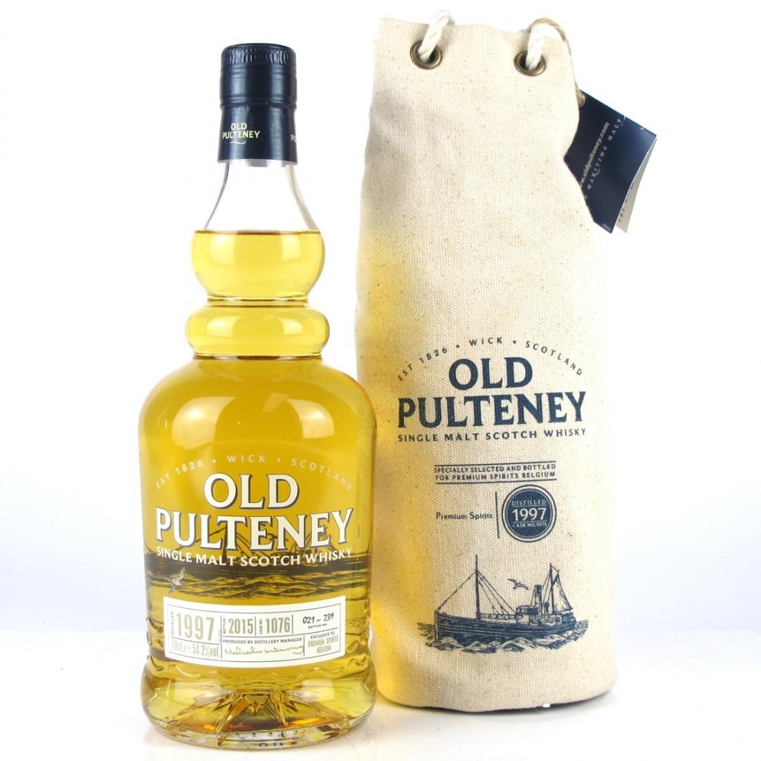 Old Pulteney 1997 Single Cask / Premium Spirits Belgium Exclusive