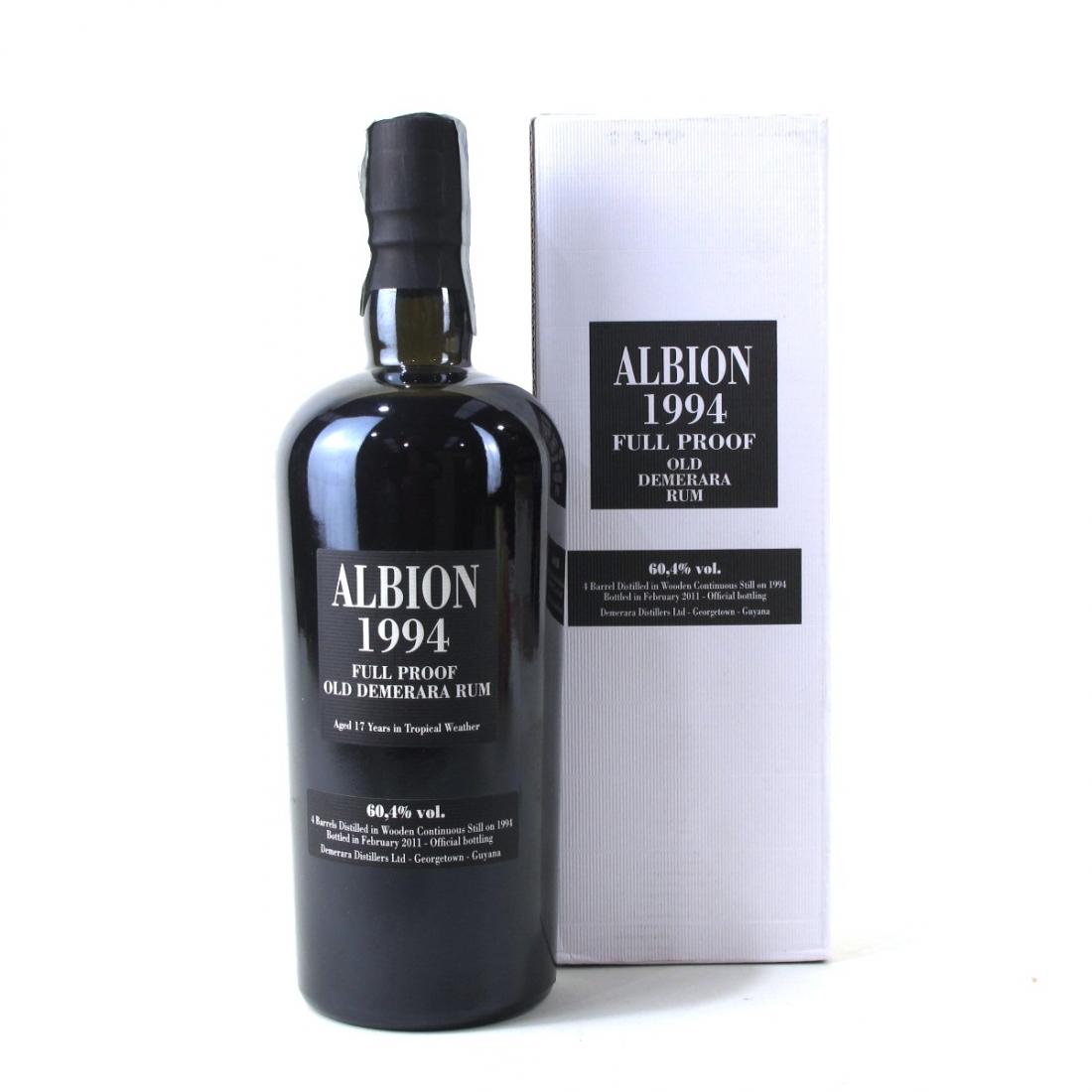 Albion 1994 Full Proof Demerara Rum / Enmore