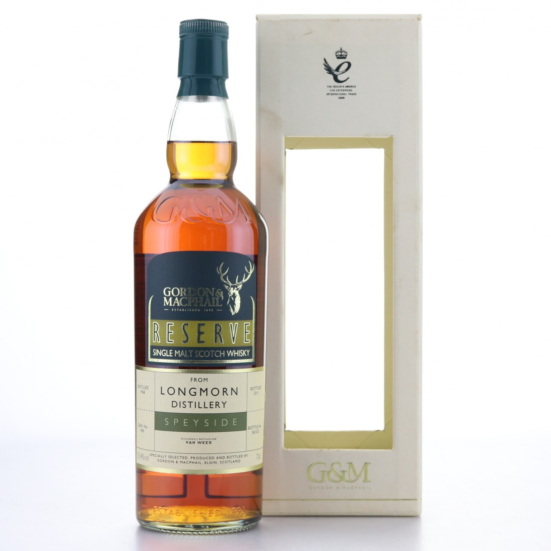 Longmorn 1968 Gordon and MacPhail Reserve​ Series