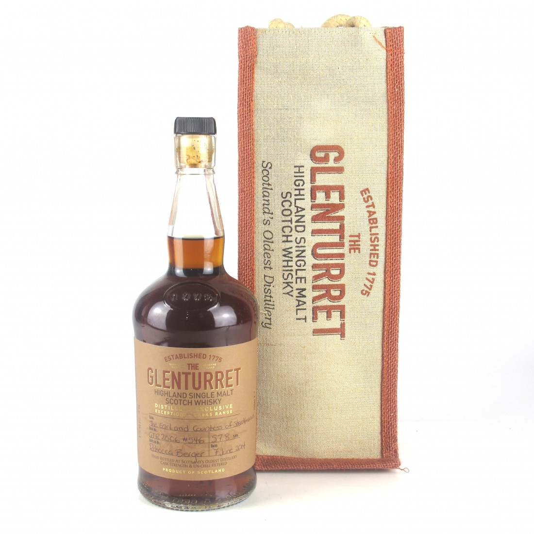 Glenturret 2006 Earl and Countess of Strathearn / Distillery Exclusive