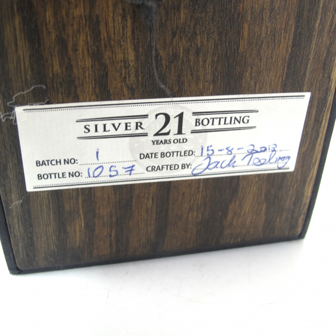 Teeling 21 Year Old Silver Bottling Vintage Reserve