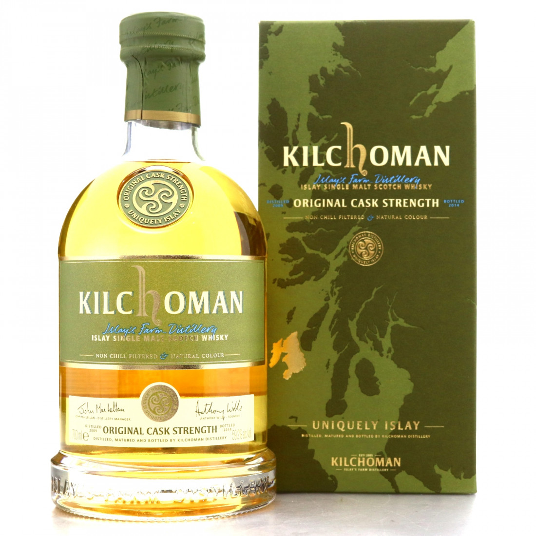 Kilchoman 2009 Original Cask Strength