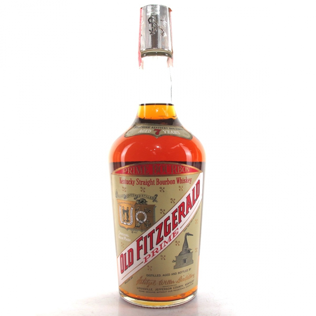 Old Fitzgerald 7 Year Old Prime Bourbon 1970s