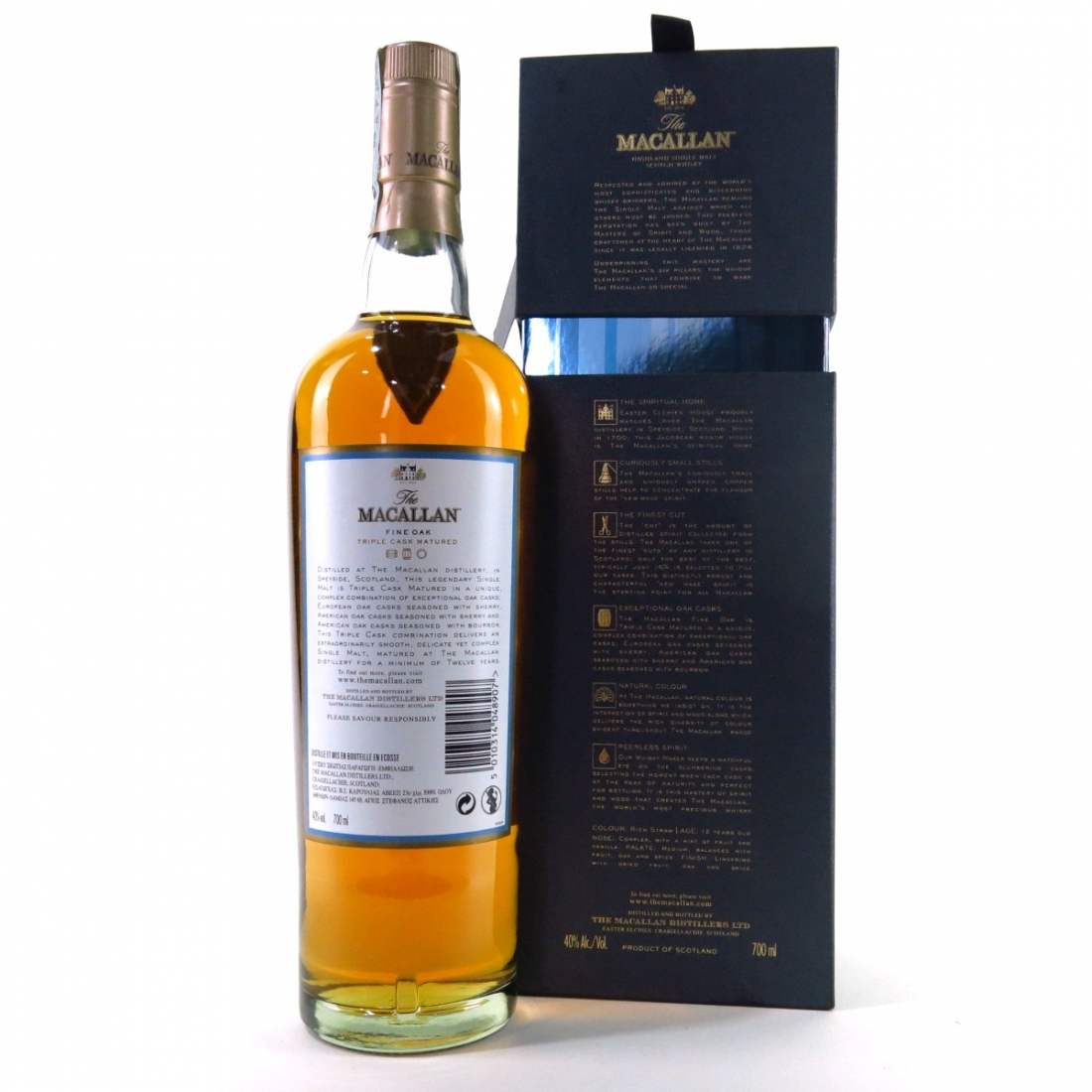 Macallan 12 Year Old Fine Oak Limited Edition