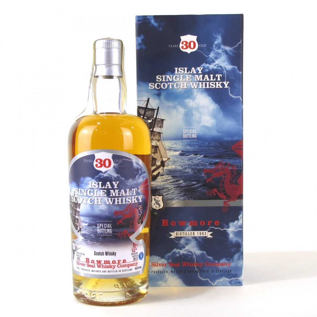 Bowmore 1983 Silver Seal 30 Year Old
