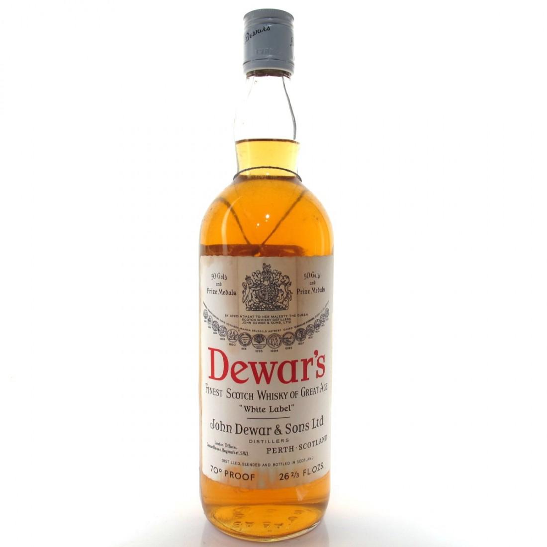 Dewar's White Label 1968