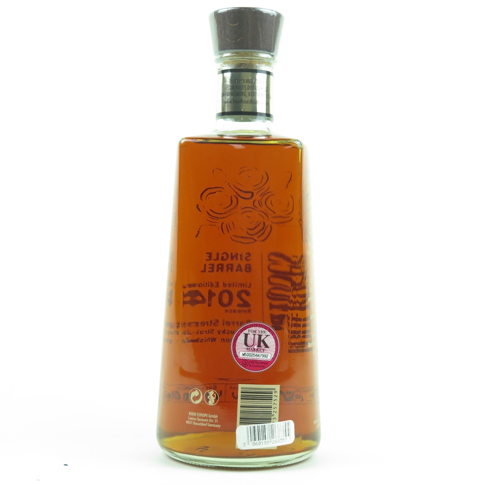 * CHECK AND UPDATE DETAILS Four Roses Limited Edition Barrel Strength 2014 Release