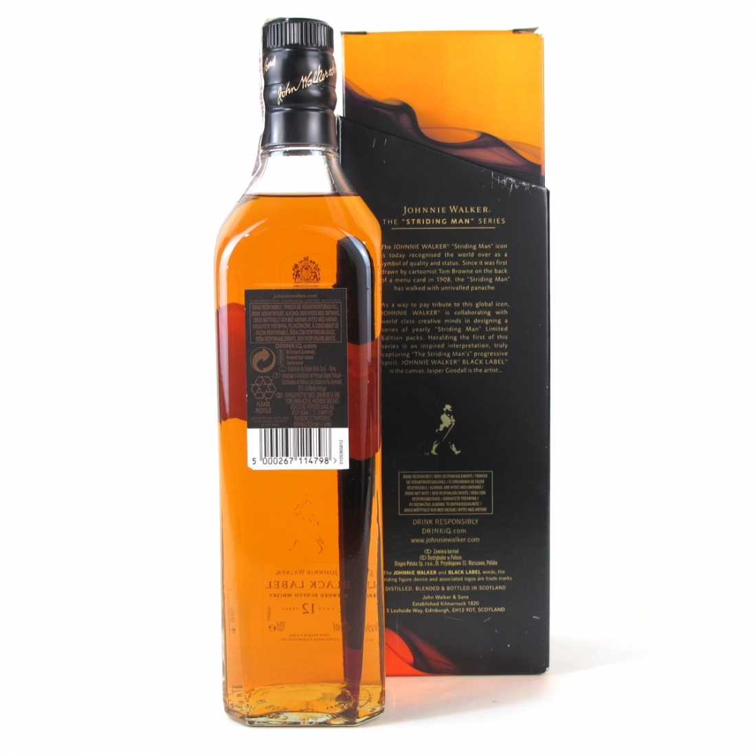 Johnnie Walker Black Label Jasper Goodall Limited Edition