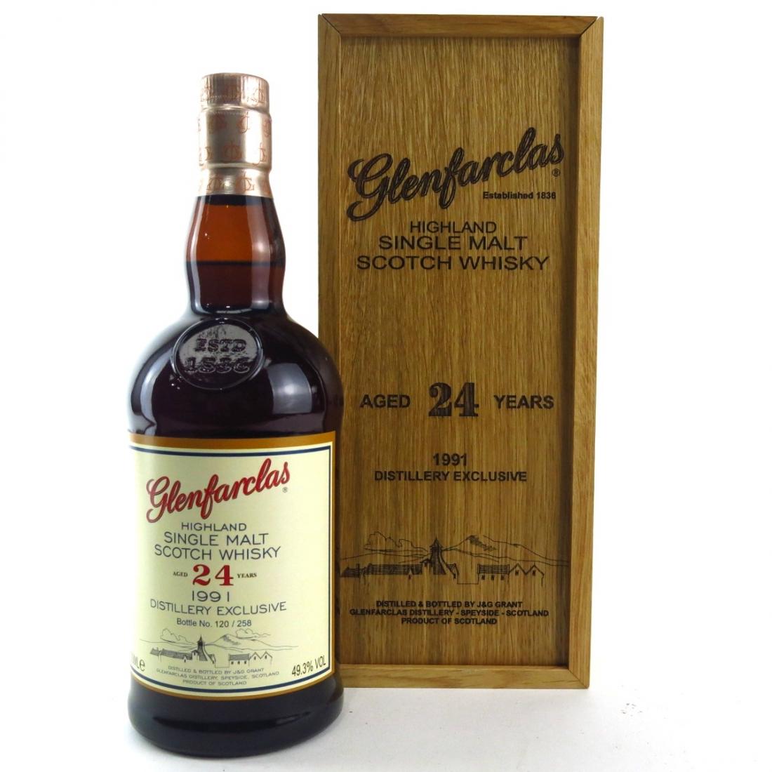 Glenfarclas 1991 Single Cask 24 Year Old / Distillery Exclusive