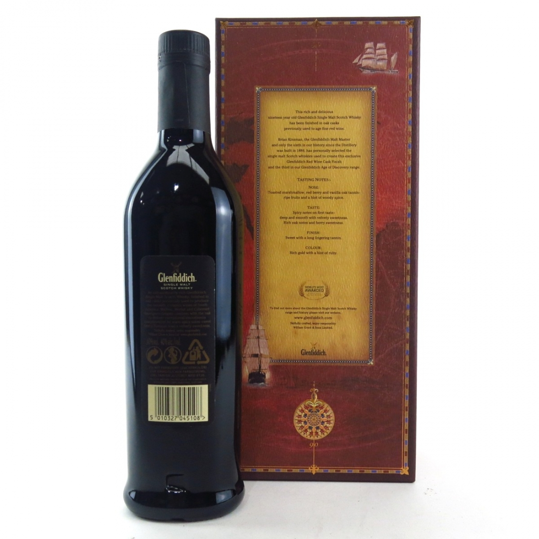 Glenfiddich Age of Discovery 19 Year Old / Red Wine Finish