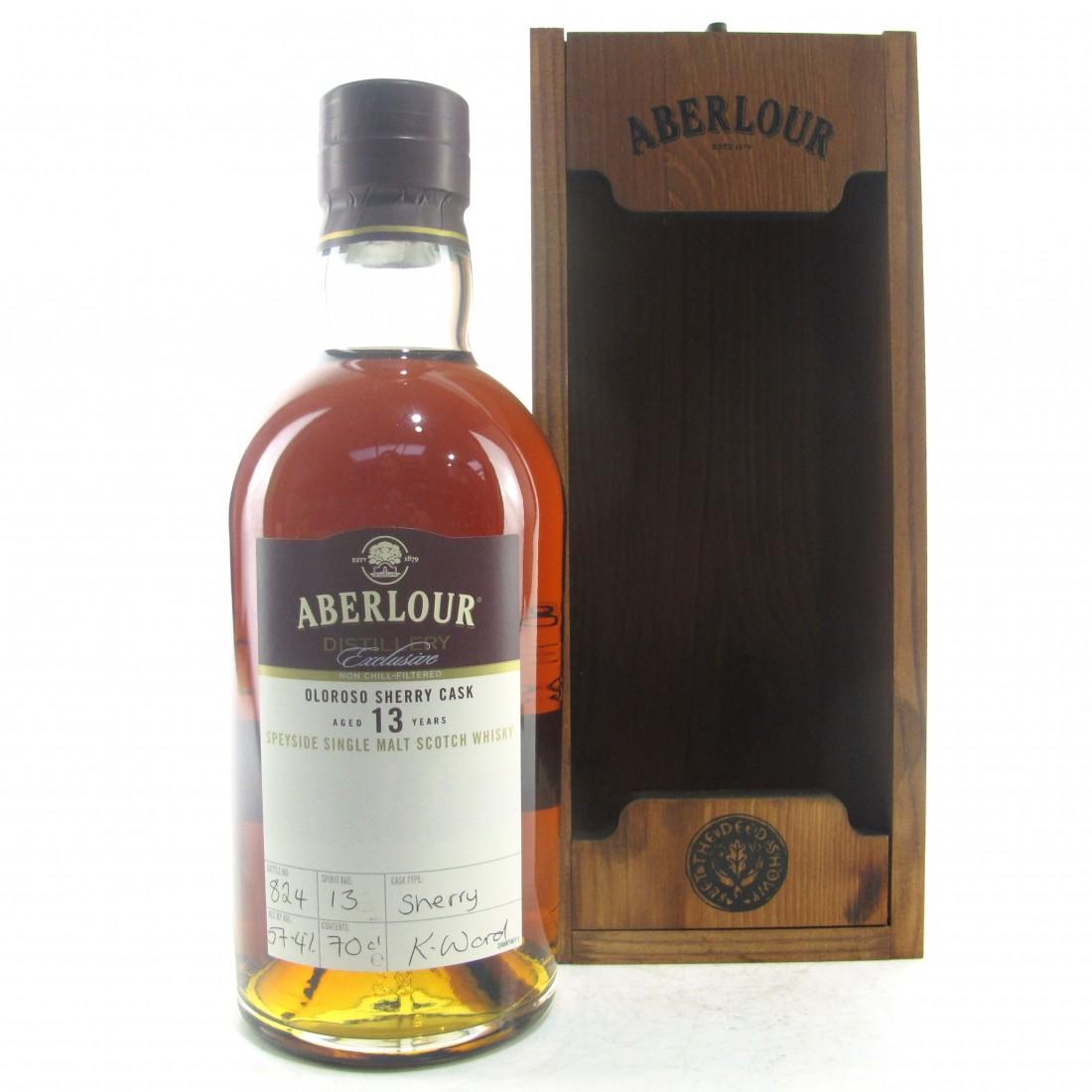 Aberlour 13 Year Old Distillery Exclusive / Oloroso Cask
