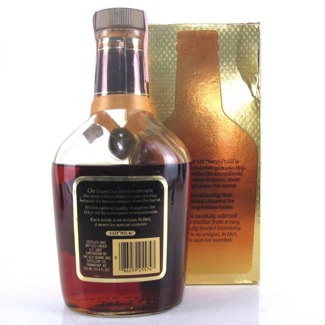 Old Grand-Dad 114 Proof Bourbon / Lot No.6 National Distilleries