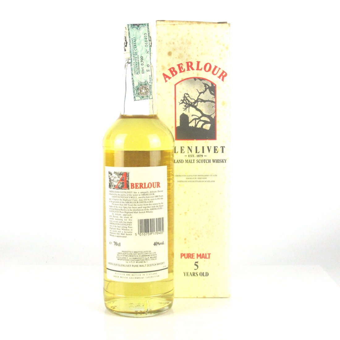 Aberlour 5 Year Old 1990s