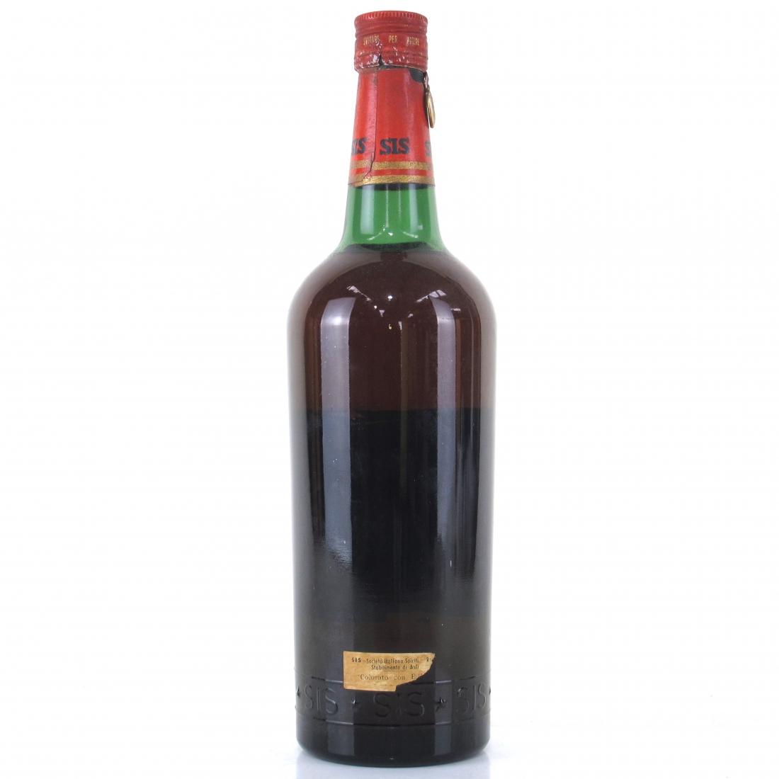 Sis Apricot Brandy 1 Litre 1950s