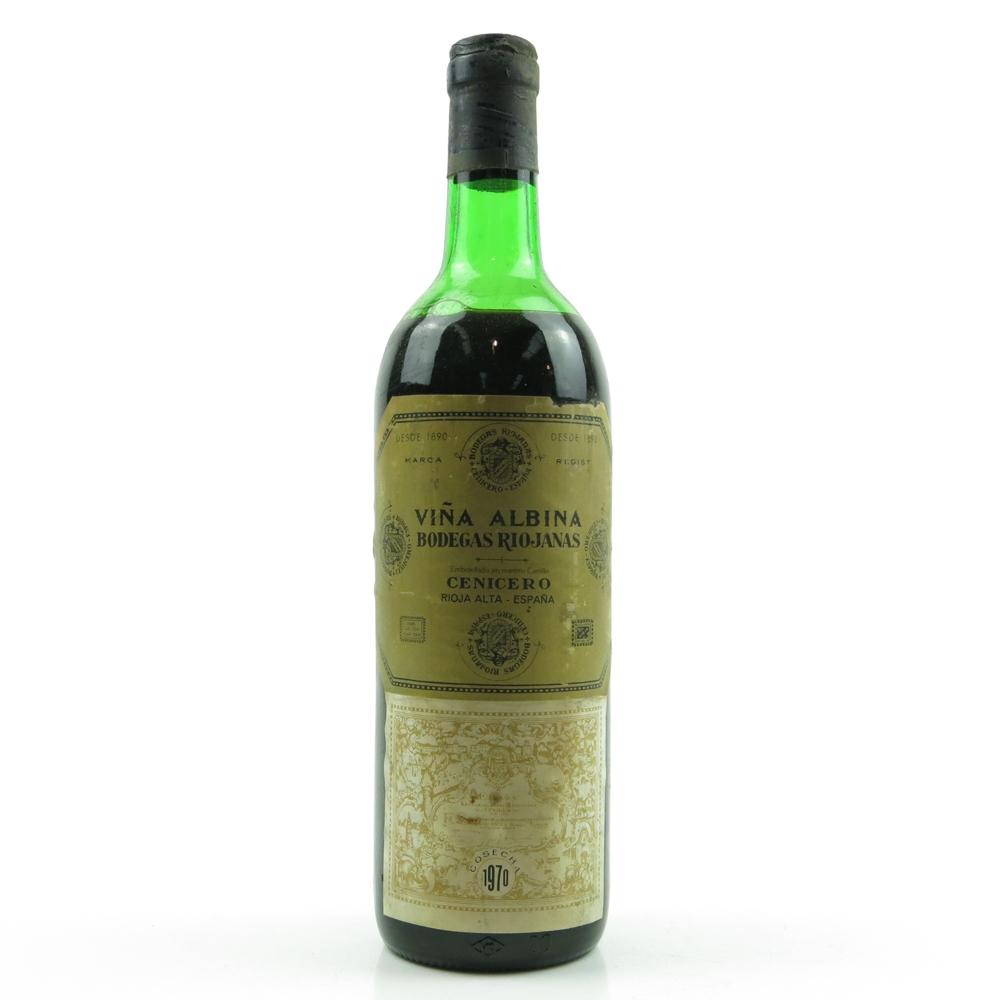 Viña Albina 1970 Rioja Crianza
