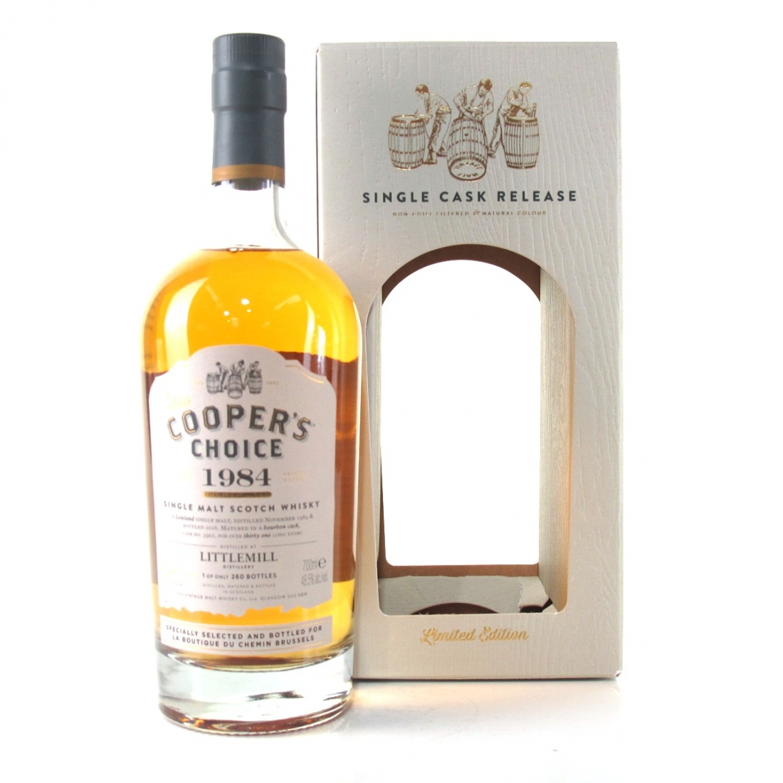 Littlemill 1984 Cooper's Choice 31 Year Old