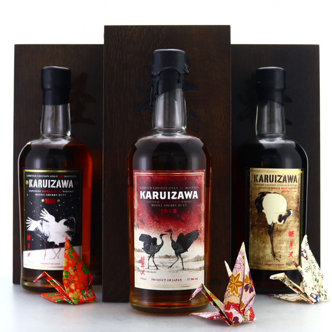 Karuizawa 1988 Trilogy 3 x 70cl / Finest Whisky Deluxe & Wealth Solutions