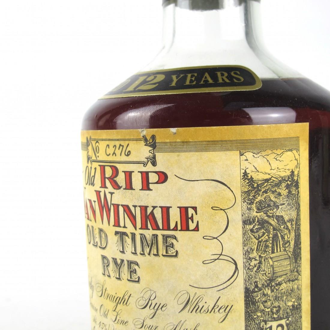 Old Rip Van Winkle 12 Year Old / Old Time Rye