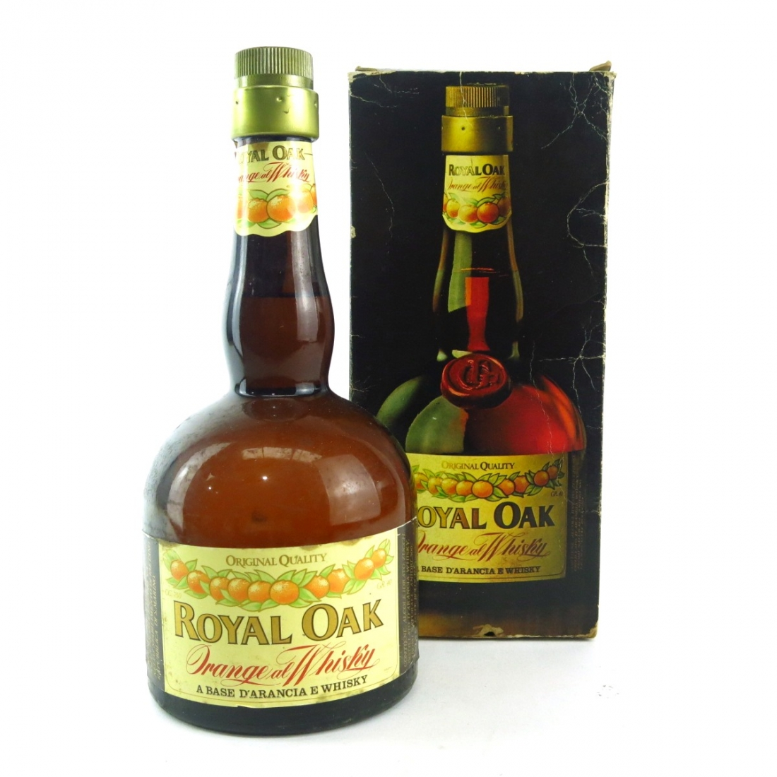 Royal Oak Orange al Whisky 1980s
