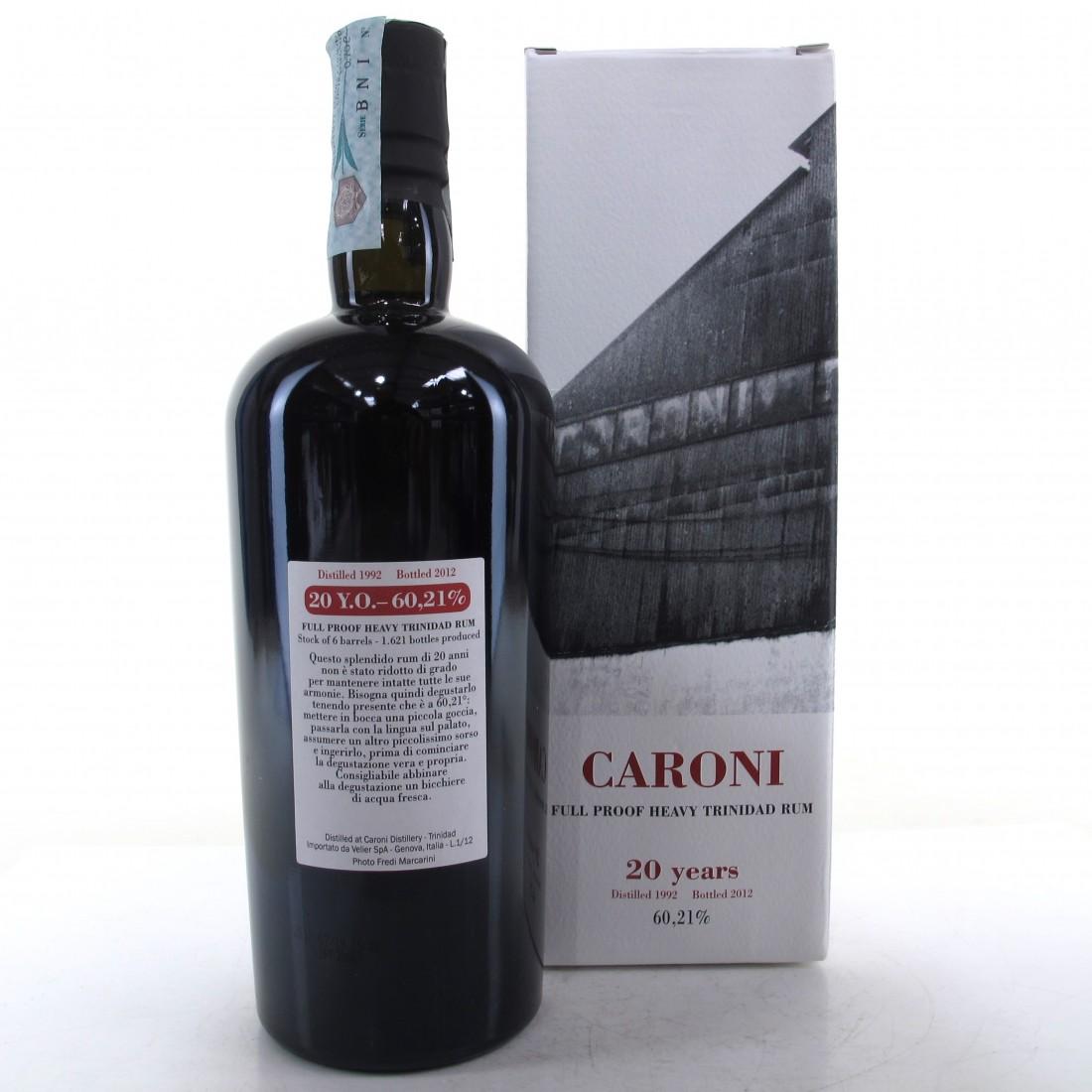 Caroni 1992 Full Proof 20 Year Old