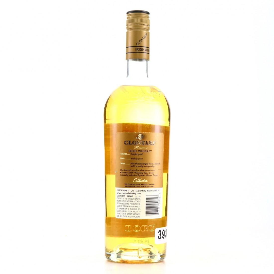 Clontarf Reserve Irish Whiskey 75cl / US Import