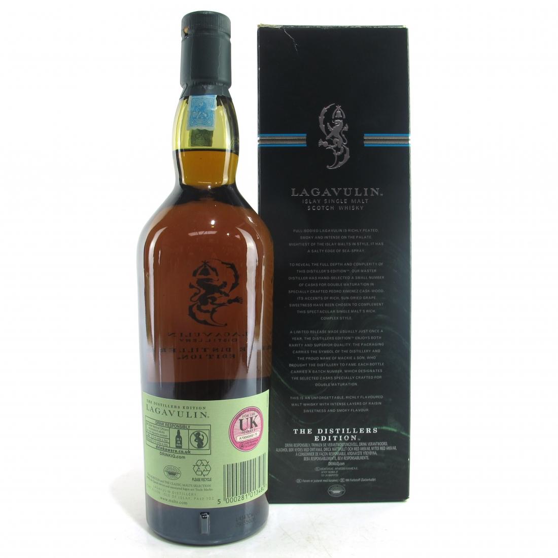 Lagavulin 1998 Distillers Edition 2014