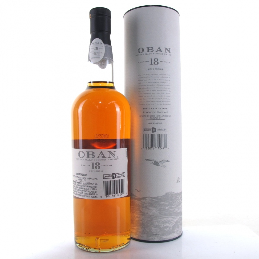 Oban 18 Year Old Limited Edition 75cl / US Import