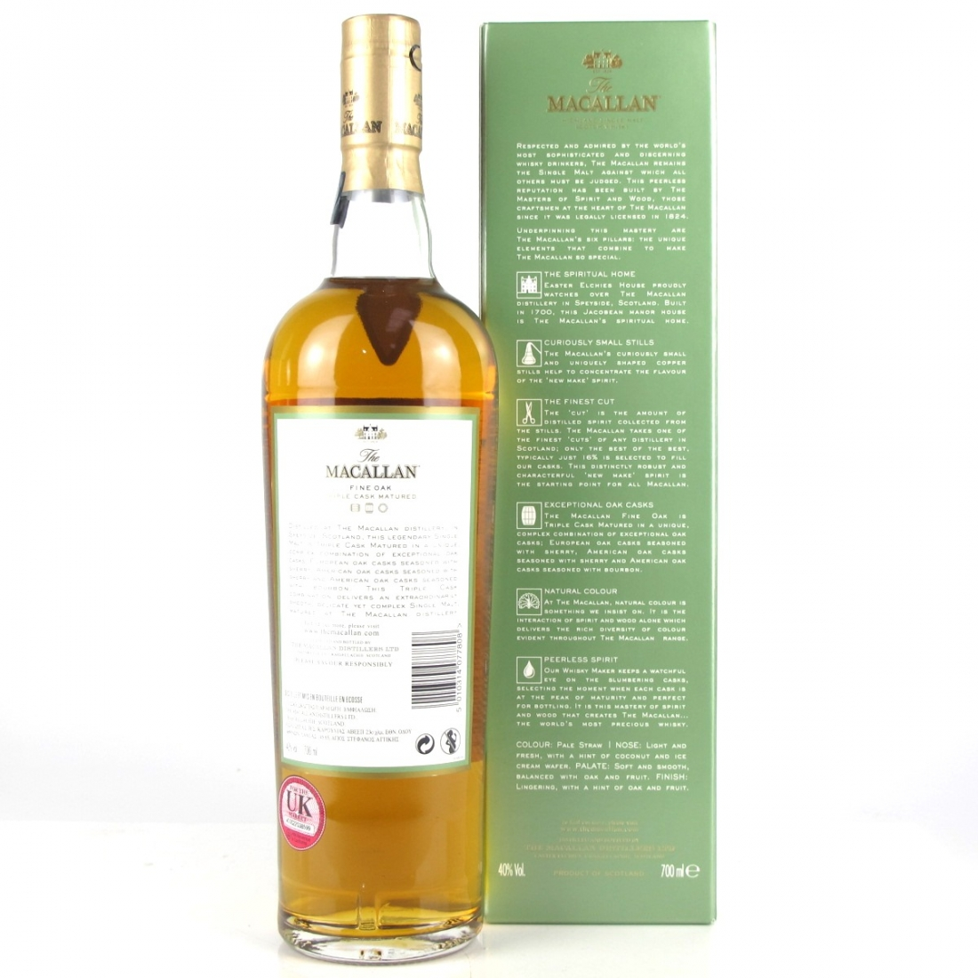 Macallan Fine Oak Masters' Edition